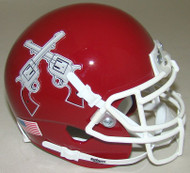 New Mexico State Aggies Alternate Schutt Mini Authentic Helmet