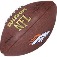 Denver Boncos NFL Team Logo Composite Football