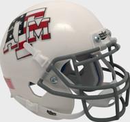 Texas A&M Aggies Alternate Stars & Stripes Flag Schutt Mini Authentic Helmet