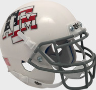 Texas A&M Aggies Alternate Stars & Stripes Flag Schutt Mini Authentic Football Helmet