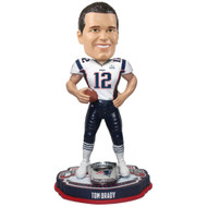 "Tom Brady New England Patriots Super Bowl 53 Champions 8"" Player Bobblehead Doll"