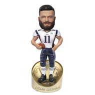 "Julian Edelman New England Patriots Super Bowl 53 Champions 8"" MVP Player Bobblehead Doll"