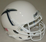 UTEP Texas El Paso Miners Alternate White Schutt Mini Authentic Football Helmet