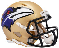 Riddell Baltimore Ravens AMP Alternate Speed Mini Football Helmet