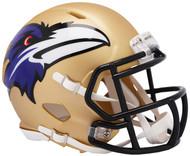 Riddell Baltimore Ravens AMP Alternate Speed Mini Football Helmet