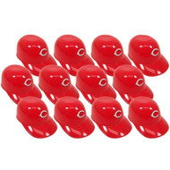 Cincinnati Reds MLB 8oz Snack Size / Ice Cream Mini Baseball Helmets - Quantity 12
