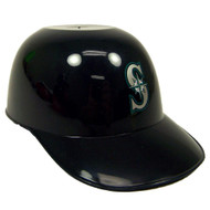 Seattle Mariners MLB 8oz Snack Size / Ice Cream Mini Baseball Helmets - Quantity 6