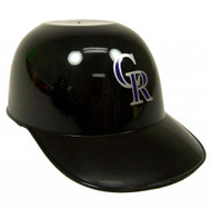 Colorado Rockies MLB 8oz Snack Size / Ice Cream Mini Baseball Helmets - Quantity 1