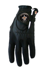 Zero Friction NFL New Orleans Saints Black Golf Glove, Left Hand