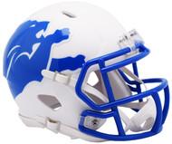 Riddell Detroit Lions AMP Alternate Speed Mini Football Helmet