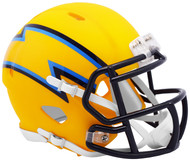 Riddell Los Angeles Chargers AMP Alternate Speed Mini Football Helmet
