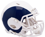 Riddell Los Angeles Rams AMP Alternate Speed Mini Football Helmet
