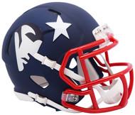 Riddell New England Patriots AMP Alternate Speed Mini Football Helmet
