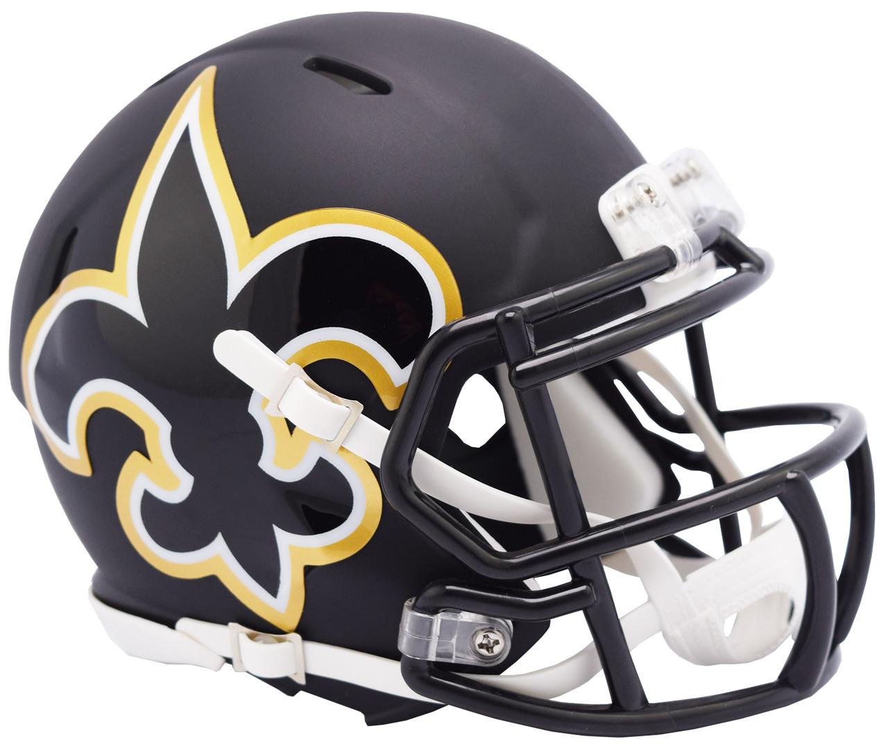 01c78deb Riddell New Orleans Saints AMP Alternate Speed Mini Football Helmet