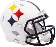 Riddell Pittsburgh Steelers AMP Alternate Speed Mini Football Helmet