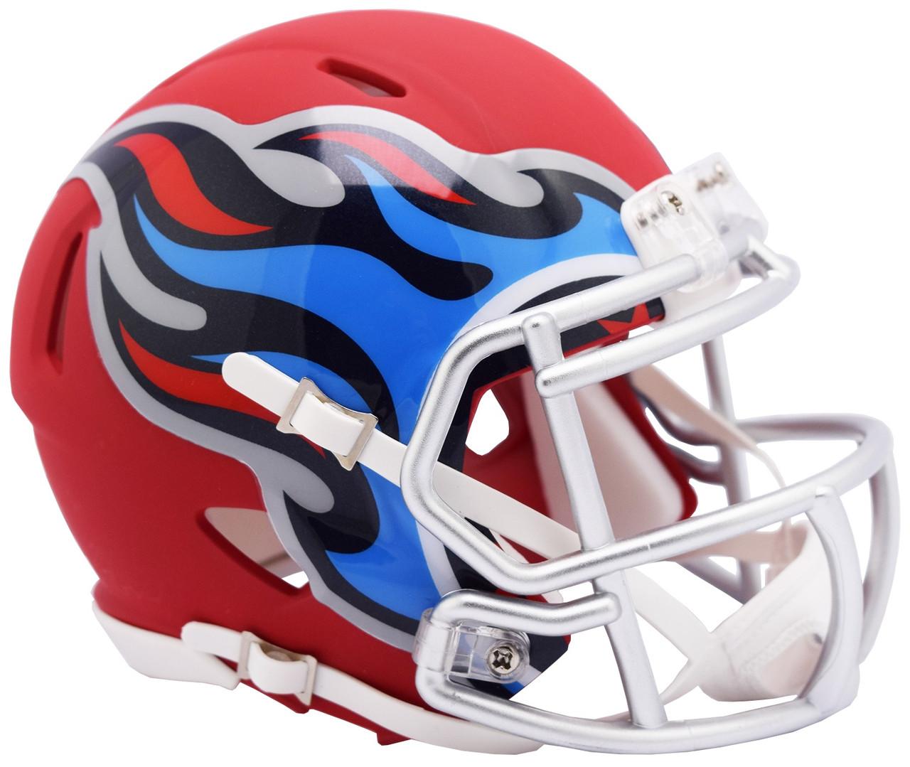 9cf14ca3 Riddell Tennessee Titans AMP Alternate Speed Mini Football Helmet