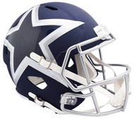 Dallas Cowboys AMP Alternate Speed Replica Full Size Football Helmet