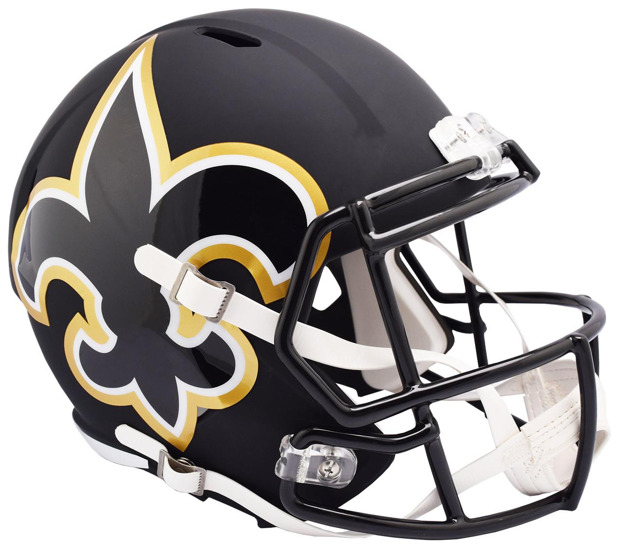 riddell new orleans saints amp speed replica full size helmet