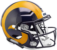 Los Angeles Rams NEW SpeedFlex Riddell Full Size Authentic Football Helmet - Speed Flex