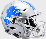 Detroit Lions NEW SpeedFlex Riddell Full Size Authentic Football Helmet - Speed Flex