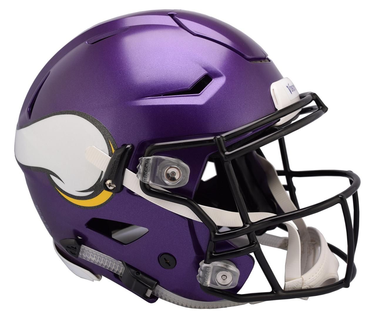 1b2c1046 Minnesota Vikings NEW SpeedFlex Riddell Full Size Authentic Football Helmet  - Speed Flex. Riddell. Image 1