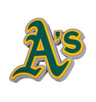 Oakland A's 3D Fan Foam Logo Sign