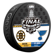 2019 NHL Stanley Cup Final - Boston Bruins vs. St. Louis Blues Dueling Souvenir Puck