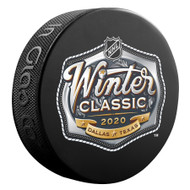 2020 Winter Classic NHL Inglasco Souvenir Puck - Cotton Bowl - Dallas, TX.