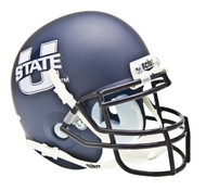 Utah State Aggies Alternate Schutt Mini Authentic Helmet
