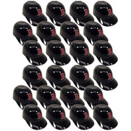 Boston Red Sox MLB 8oz Snack Size / Ice Cream Mini Baseball Helmets - Quantity 24