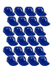 Los Angeles Dodgers MLB 8oz Snack Size / Ice Cream Mini Baseball Helmets - Quantity 24
