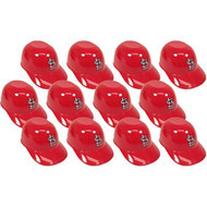 St. Louis Cardinals MLB 8oz Snack Size / Ice Cream Mini Baseball Helmets - Quantity 12