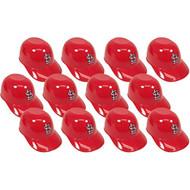 St. Louis Cardinals MLB 8oz Snack Size / Ice Cream Mini Baseball Helmets - Quantity 12