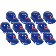Chicago Cubs MLB 8oz Snack Size / Ice Cream Mini Baseball Helmets - Quantity 12