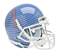 Tulsa Golden Hurricane Alternate Carbon Fiber Schutt Mini Authentic Helmet