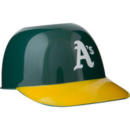 Oakland Athletics MLB 8oz Snack Size / Ice Cream Mini Baseball Helmets - Quantity 24