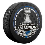 2019 NHL Stanley Cup Champions St. Louis Blues Souvenir Puck