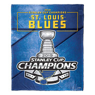 "St. Louis Blues The Northwest Company Stanley Cup Champions 50"" x 60"" Silk Touch Blanket"