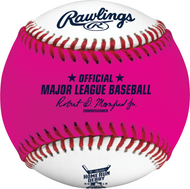 2019 MLB All-Star Game Rawlings Official Pink Home Run Derby Moneyball Baseball - Cleveland Indians