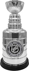 "NHL Shield Stanley Cup Resin Replica 8"" tall Trophy"