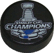 "St. Louis Blues 2019 NHL Stanley Cup Champions Mini Hockey Puck Charm (1.5"")"