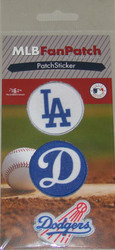 Los Angeles Dodgers Collectible Fan Patch Stickers