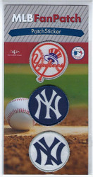 New York Yankees Collectible Fan Patch Stickers