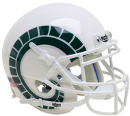 Colorado State Rams Alternate White with Horns Schutt Mini Authentic Football Helmet