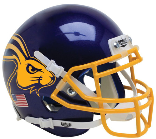 South Dakota State Jackrabbits Alternate Jackrabbit Schutt Mini Authentic Football Helmet