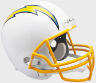 Los Angeles Chargers 2019 Riddell Full Size Replica Football Helmet