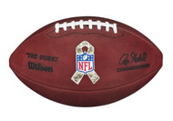 Wilson The Duke Official NFL Football - Salute to Military Service Ribbon