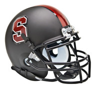 Stanford Cardinal Alternate Black Schutt Mini Authentic Helmet
