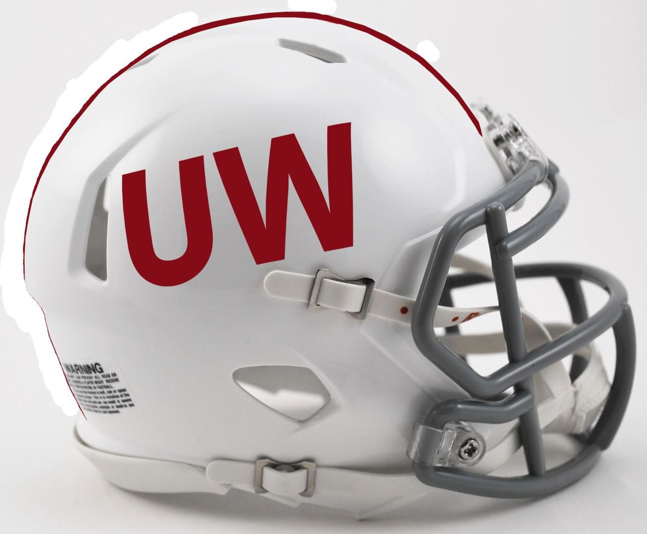 Wisconsin Badgers NCAA Revolution Speed Mini Football Helmet