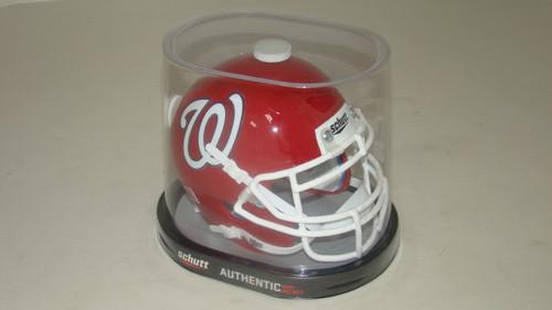 Washington Nationals Schutt MLB Mini FOOTBALL Helmet
